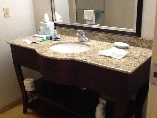 Hampton Inn Garden City: bathroom
