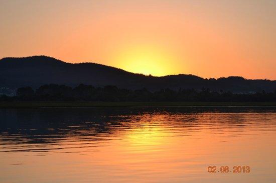 كنيسنا, جنوب أفريقيا: Sunset view from boat