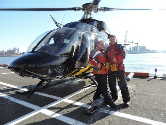 Zip Aviation - Helicopter Tours & Charters: Flying Honeymoon