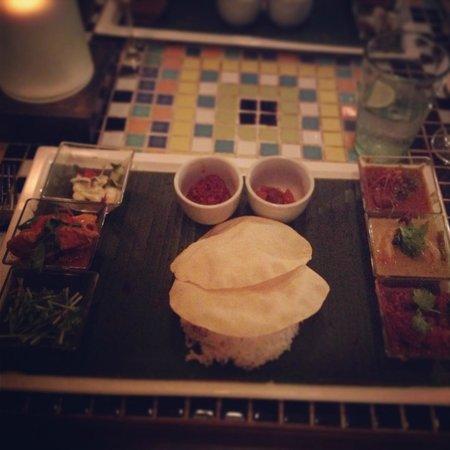 La Sal at Casa Del Mar : Malaysian taste plate