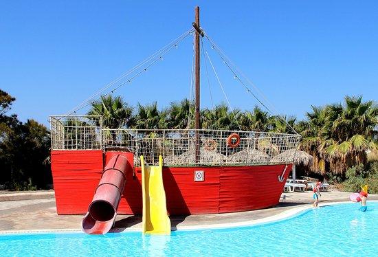 Santorini Waterpark: детский бассейн