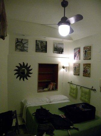 Hotel Europeo & Flowers: Appartamento Museo 201: la zona notte
