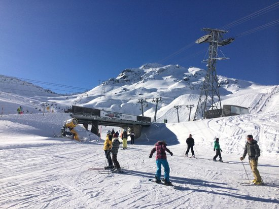 Parsenne ski area near the crossroads to Kloster Picture of Davos