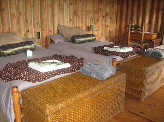 Central African Wilderness Safaris Chelinda Lodge: Inside the cabins