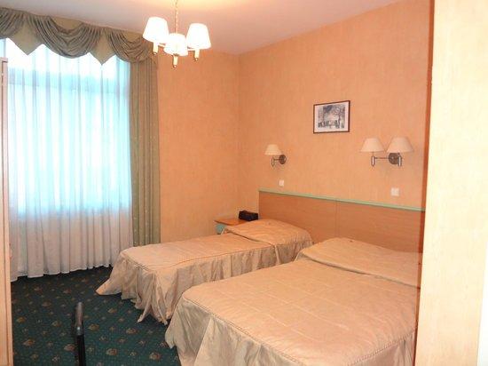 Hotel Kazimierz: Трехместный номер (бронировали как двухместный)