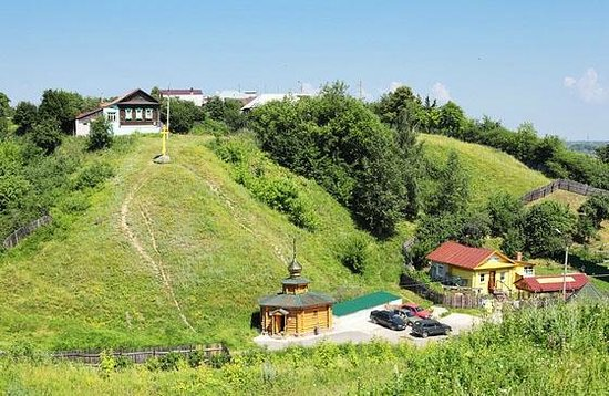 Murom, Rusija: Вид на Святой источник Илии Муромца в Карачарово