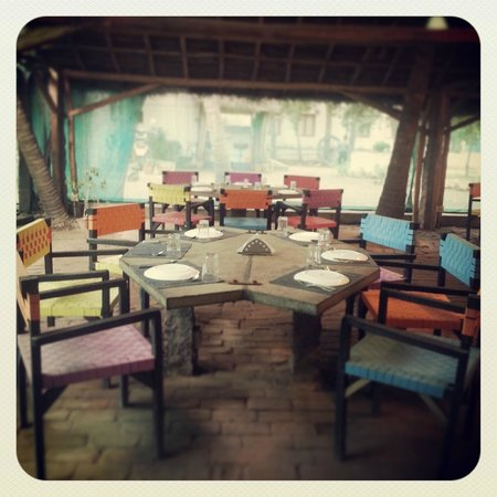 The Farm: Seating in the Restaurant