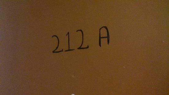 Europa Hostel : Room numbers