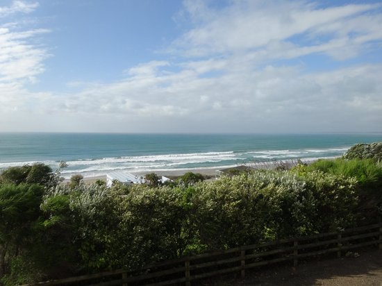 Ahipara Bay Motel : Deck view