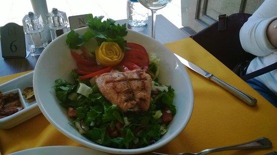 Nidya Hotel Galataport: обед в ресторане отеля