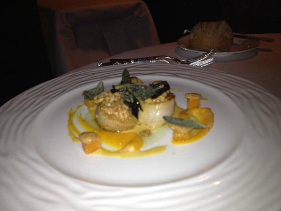 Le Gavroche: Beautiful scallops