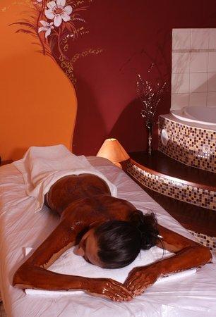 Wellness Hotel Frymburk: Chocolate massage