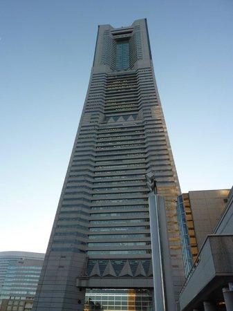 Yokohama Royal Park Hotel: 高いね!