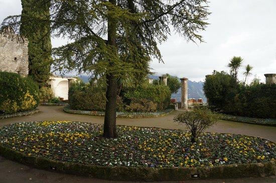 Villa Rufolo: Winter views