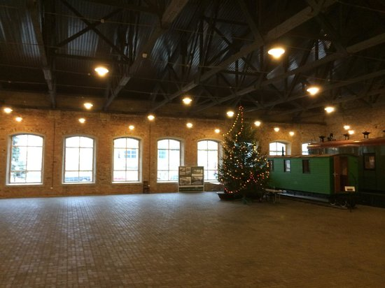 Railway History Museum: Один из залов музея выглядит как зал ожидания
