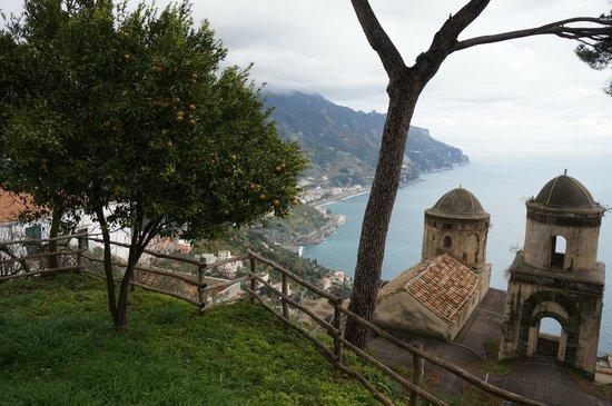 Villa Rufolo: Winter in the Grufolo!