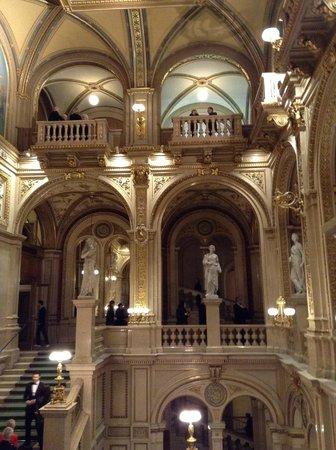 State Opera House: The grand staircase