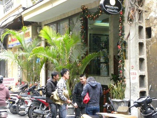 Hanoi Finnegans Hotel: Hotel Exterior