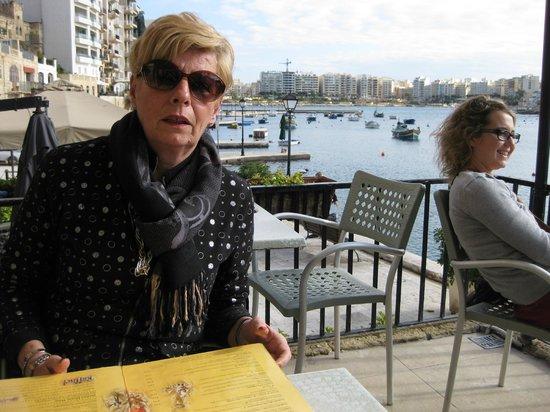 San Giuliano Restaurant: Veduta dalla terrazza