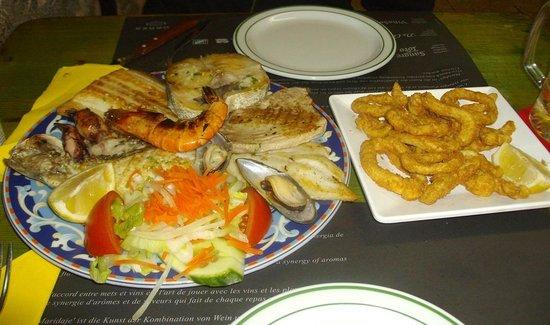 Casa Manolo: grigliata per 1 persona, mangiata in 2