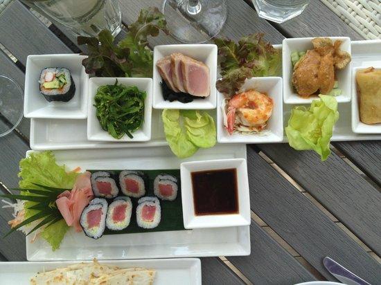 Twinpalms Phuket: Great beach club food