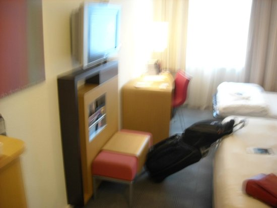 Novotel Zurich Airport Messe : Part of our room