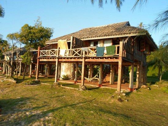 Pano Resort: Вид отеля со стороны моря