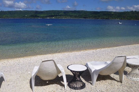 Hideaway Island Resort: Perfect spot for lazing the morning away