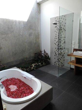 Ubud Padi Villas: Villa Santun Bathroom V