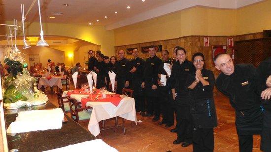 TUI SENSIMAR Natura Palace & SPA: Gala dinner waiters