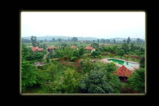 Mogli Resort : Birds eye view