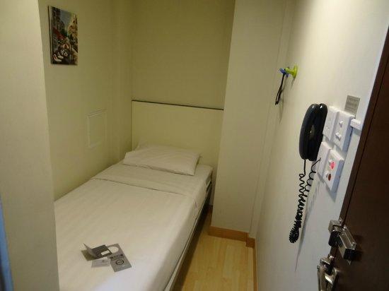 Hongkong MK Hotel: Single room ( No window )