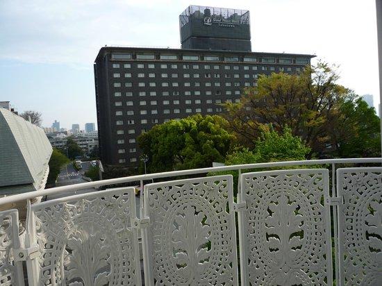 Grand Prince Hotel New Takanawa : ベランダ有です.