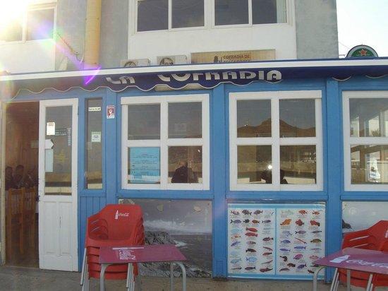 Restaurante La Cofradia: Cofradia entrata principale