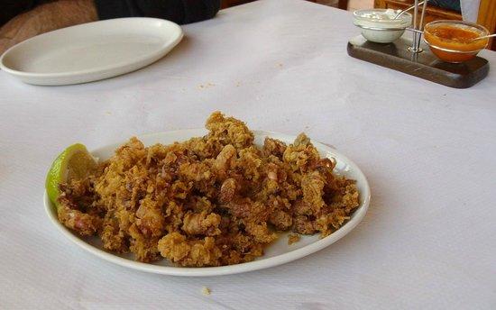 Restaurante la cofradia: mezza porzione di puntillas