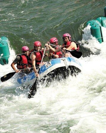 Cergy, France: Rafting