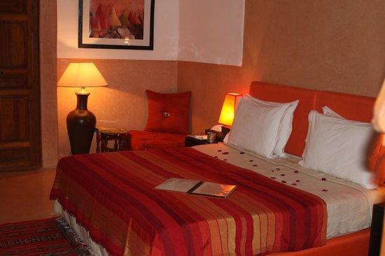 Riad l'Orangeraie: Saffron Room