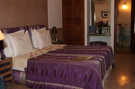 Riad l'Orangeraie: Curcuma room