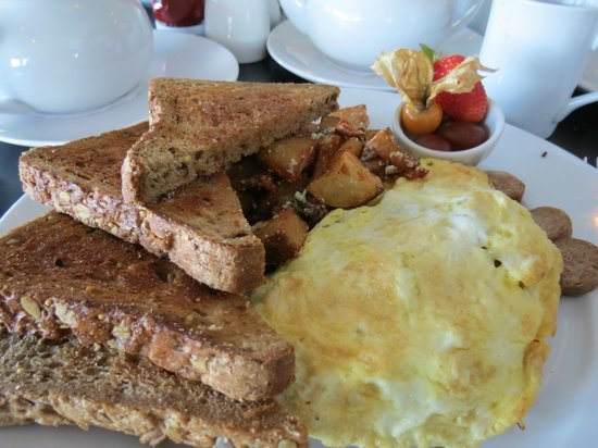 Sea Glass Waterfront Grill: Seaglass Omelet...