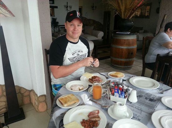 Stephans Guesthouse: Breaky 2