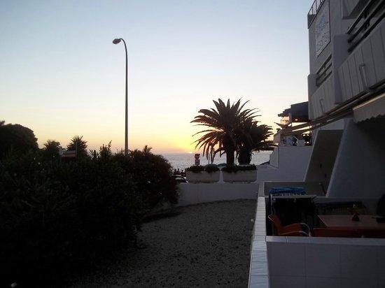 HOVIMA Panorama: Udsigt over solnedgang