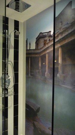 Francis Hotel Bath - MGallery by Sofitel: Shower mural