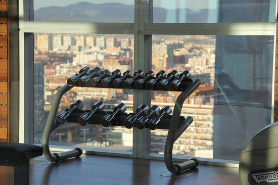 Novotel Barcelona City: Gym