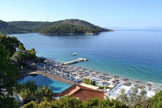 Adrina Beach: Balcony view