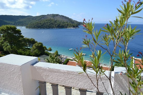 Adrina Beach: Breakfast view