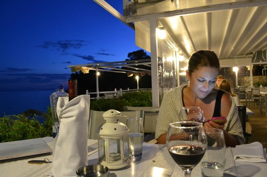 Adrina Beach: Dinner