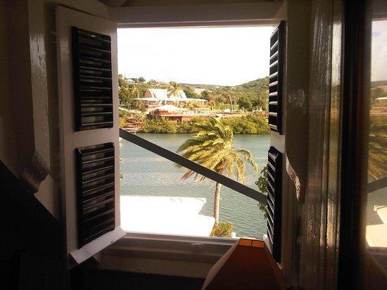 Admiral's Inn & Gunpowder Suites: vista dalla camera in mansarda