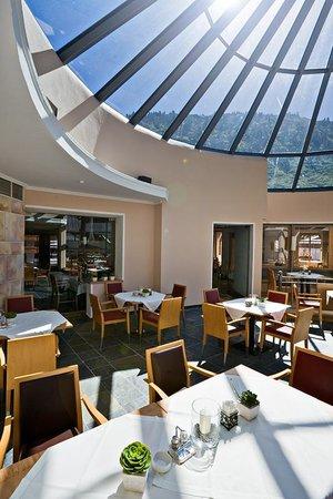 Hotel Edelweiss & Gurgl a la carte Restaurant: Wintergarten
