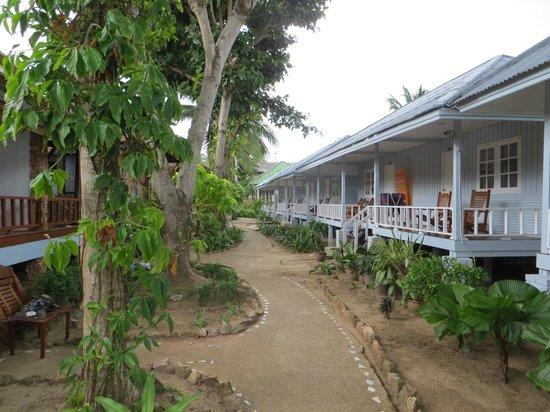 Utopia Resort: the resort garden