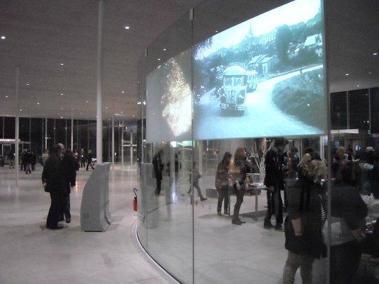 Louvre-Lens : Hall d'entrée